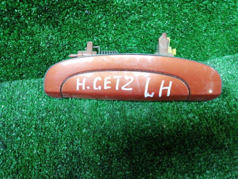 Ручка наружная Hyundai Getz G4EE 2007 задняя левая