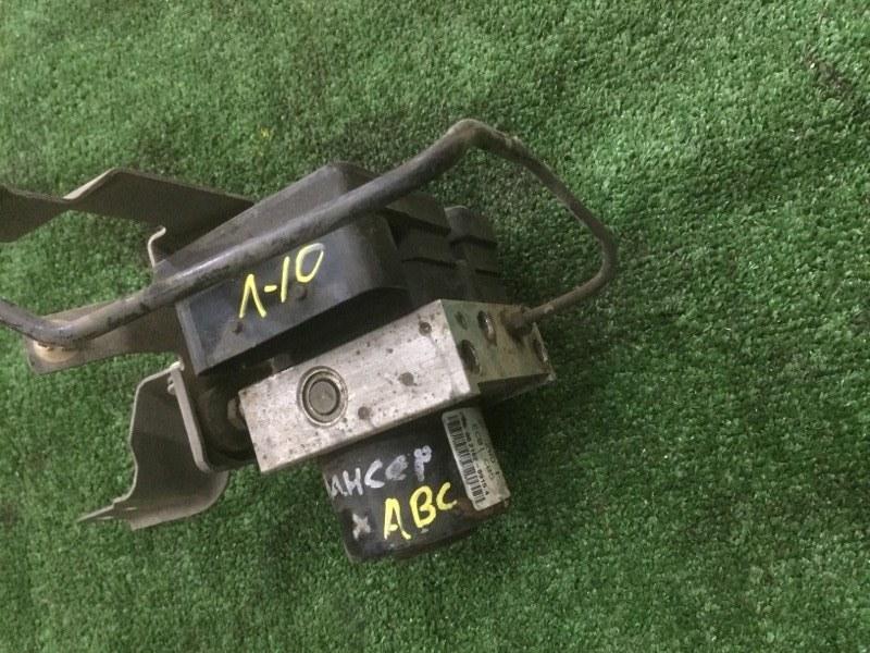 Блок abs Mitsubishi Lancer X 4A91