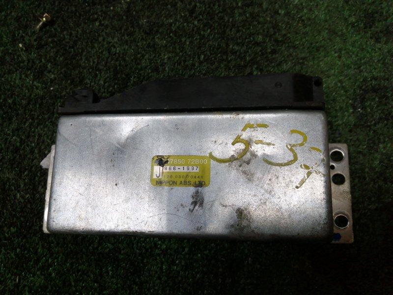 Блок управления abs Nissan March K11 CG10