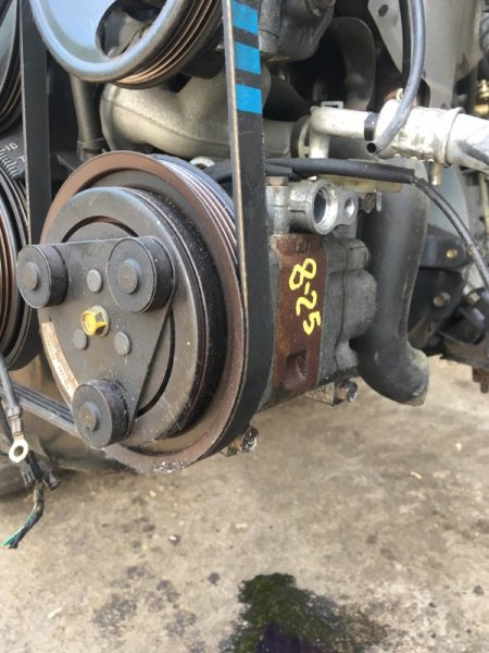 Компрессор кондиционера Ford Festiva D23PF B3