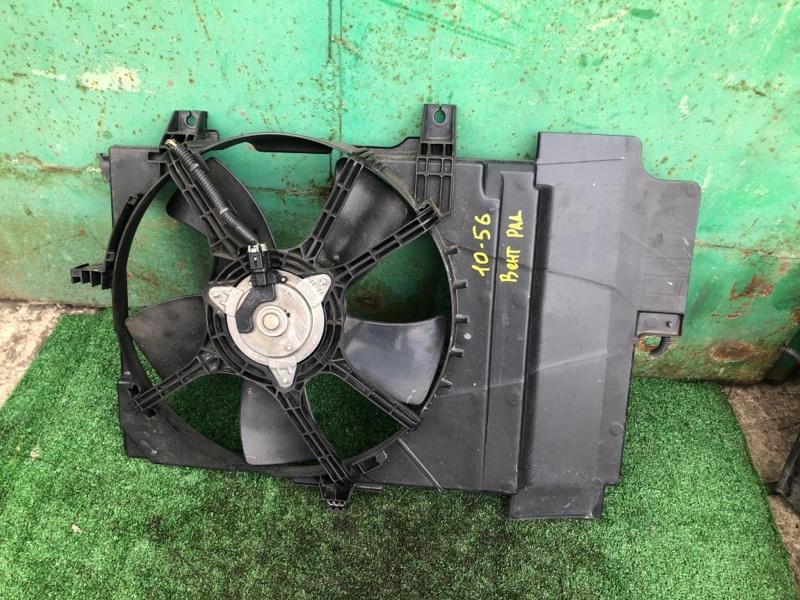 Вентилятор радиатора двигателя Nissan Note E11 HR15DE