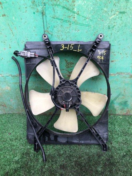 Вентилятор радиатора двигателя Toyota Carina AT211 7A левый