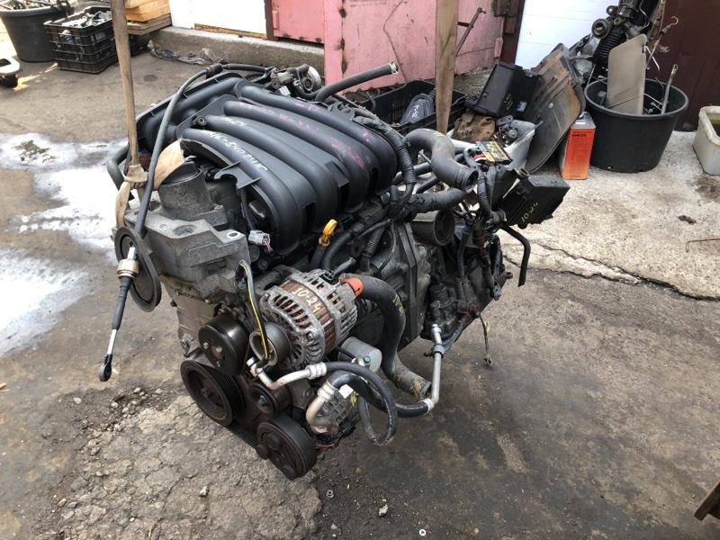 Двигатель Nissan Ad Expert VZNY12 HR16DE
