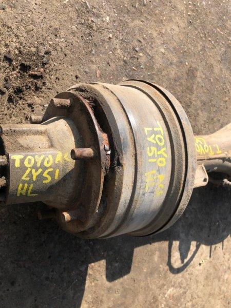Барабан тормозной Toyota Toyoace LY51 задний левый