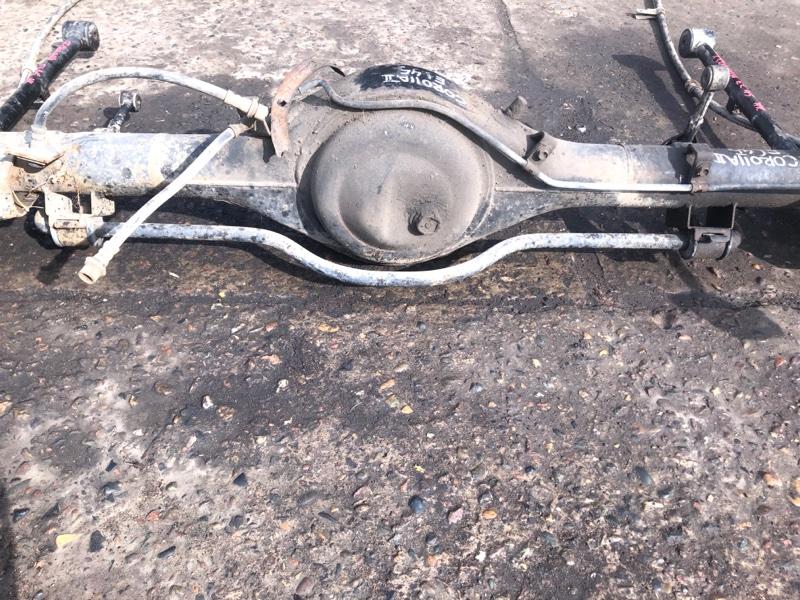 Стабилизатор поперечной устойчивости Toyota Corolla Ii EL45 задний