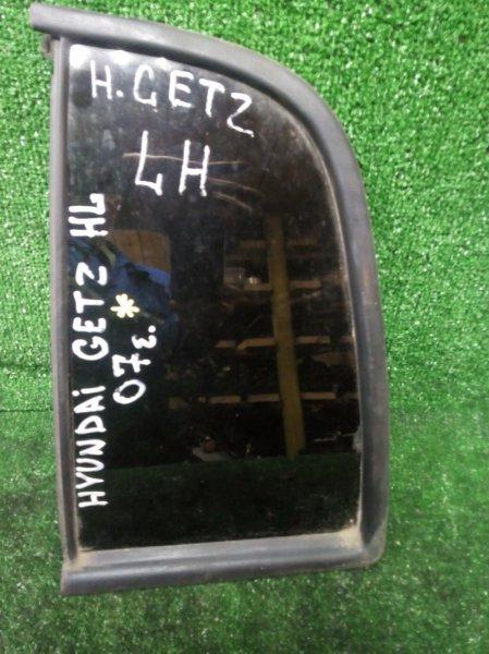 Форточка дверная Hyundai Getz НЕ ОПРЕД 2007 задняя левая