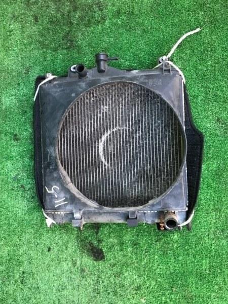 Радиатор двигателя Mitsubishi Pajero Jr H57A 4A31