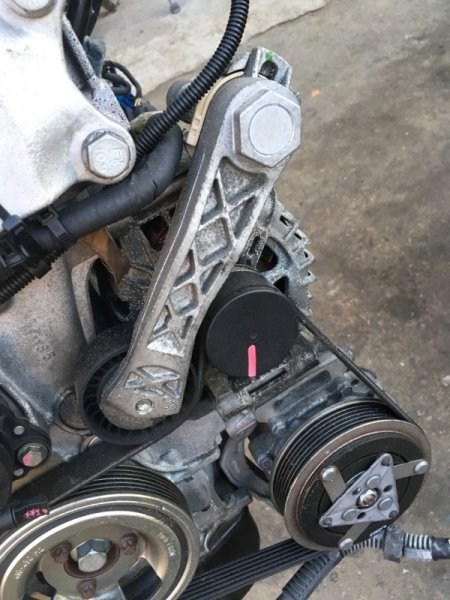 Натяжитель Peugeot 207 PSA5FDI (5FS) 2010