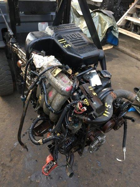 Проводка двигателя Mitsubishi Pajero Jr H57A 4A31