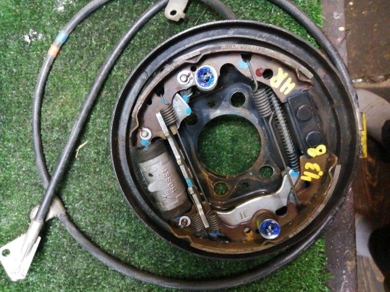 Механизм стояночного тормоза Toyota Passo KGC-10 1KR задний правый