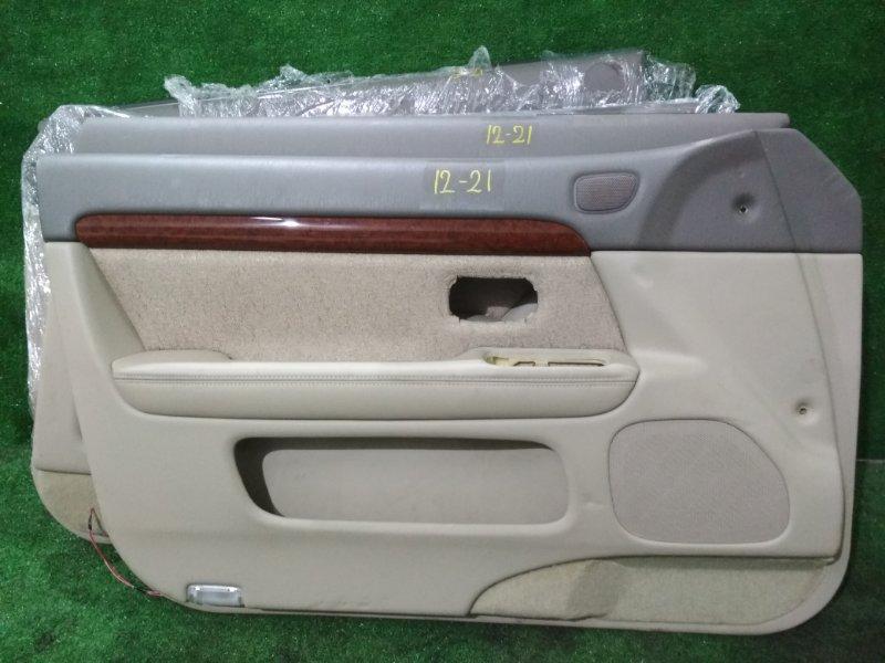 Обшивка двери Toyota Progres JCG10 1JZ-FSE