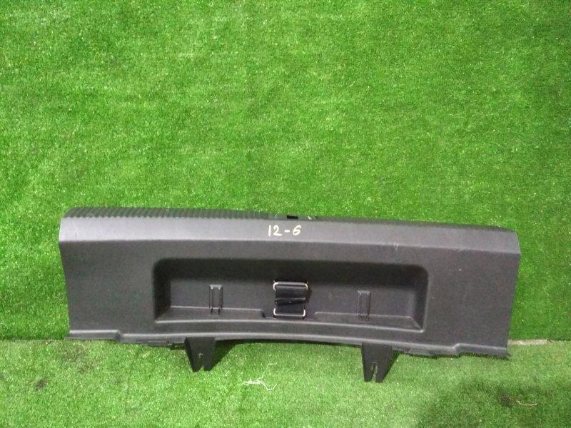 Накладка багажника Audi A3 BSE 2007