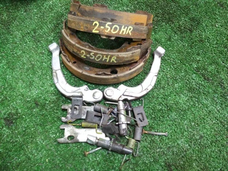Механизм стояночного тормоза Nissan March K11 CG10DE задний