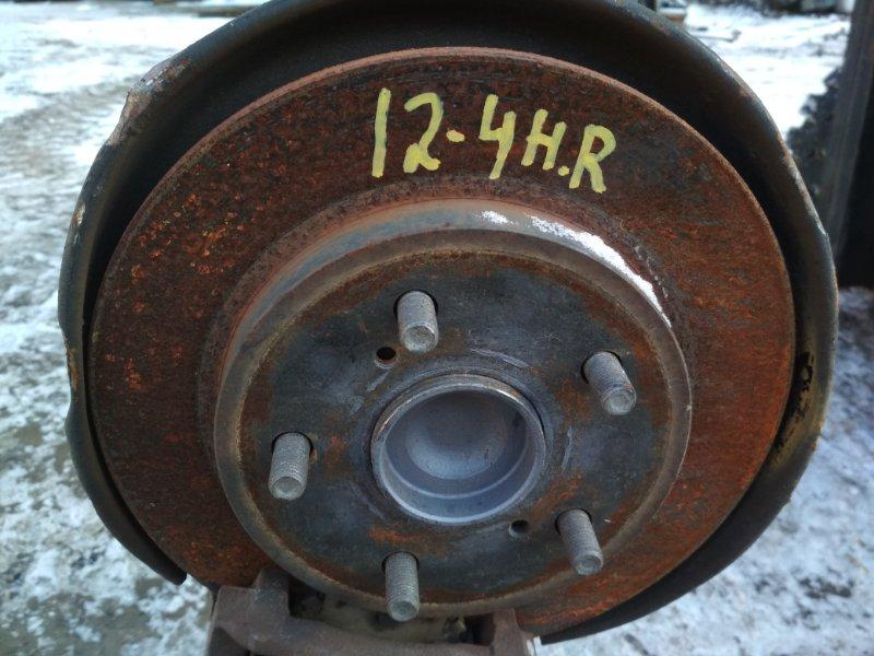 Диск тормозной Toyota Corolla Rumion ZRE152N 2ZR-FE задний правый