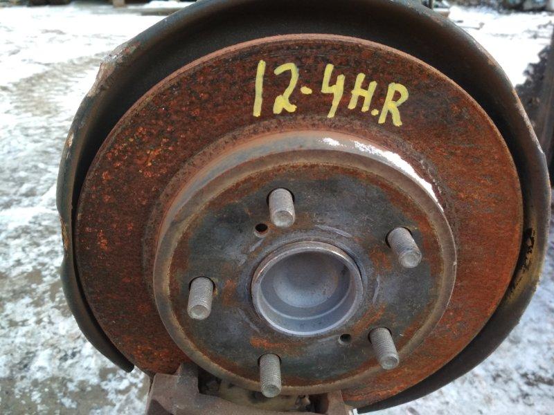 Ступица Toyota Corolla Rumion ZRE152N 2ZR-FE задняя правая