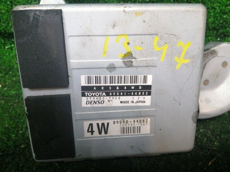 Блок управления abs Toyota Gaia SXM15 3S-FE