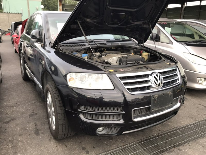 Защита подкапотного пространства Volkswagen Touareg BMV 2007