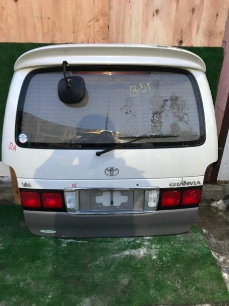 Дверь задняя багажника Toyota Granvia VCH16W 5VZ-FE