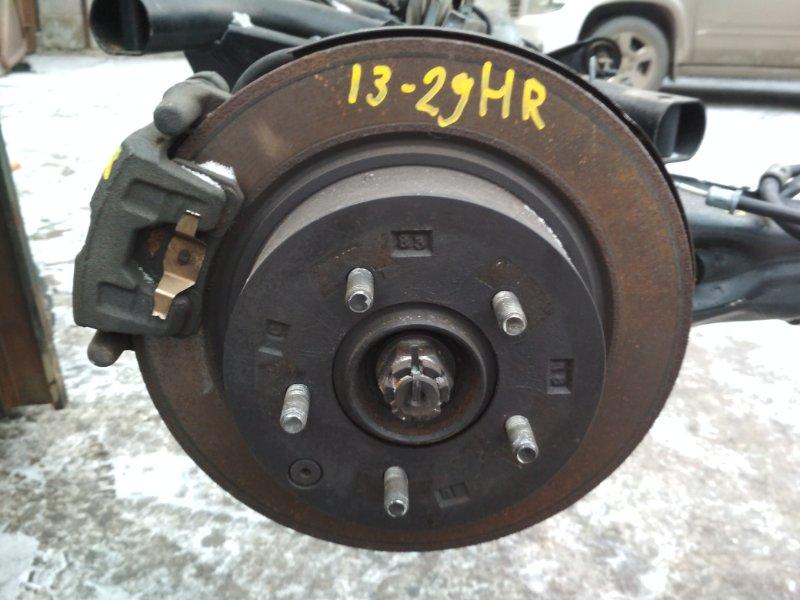 Диск тормозной Mitsubishi Outlander Xl CW6W 6B31 задний правый