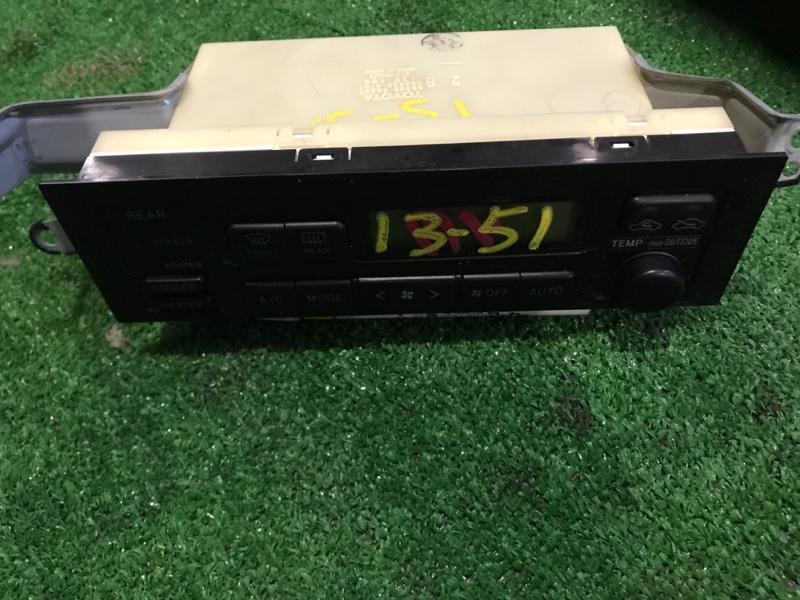 Блок управления климат-контролем Toyota Granvia VCH16W 5VZ-FE