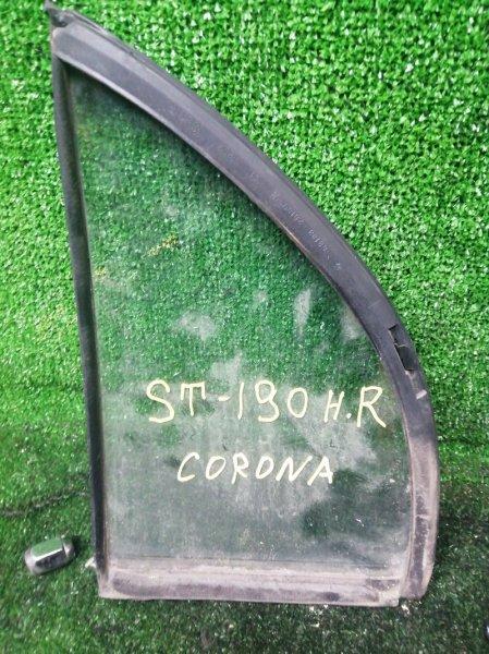 Форточка дверная Toyota Corona ST190 задняя правая