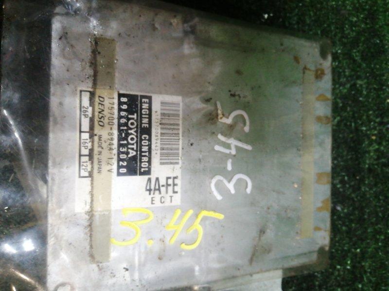 Блок управления двс Toyota Spacio AE-111 4A-FE