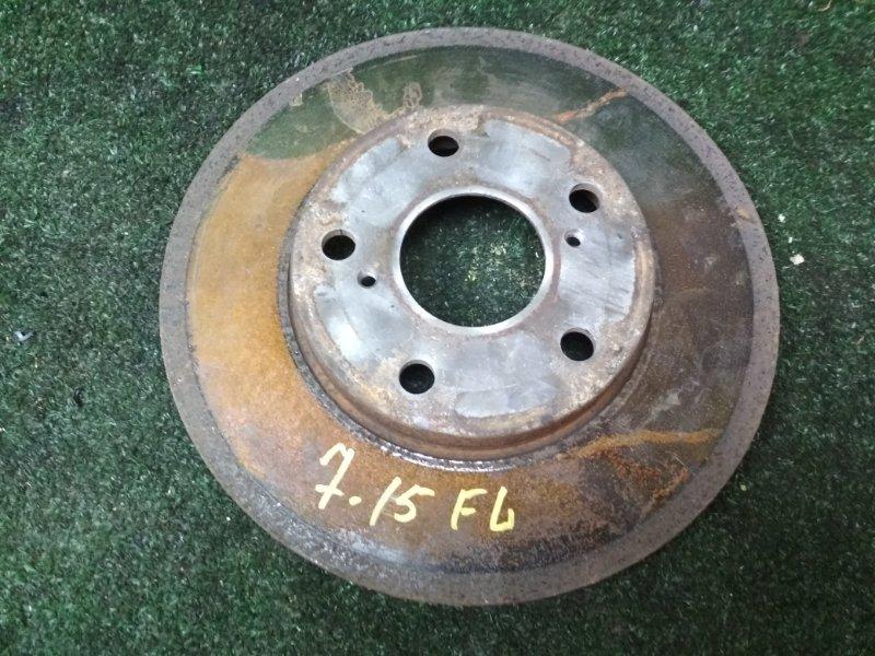 Диск тормозной Toyota Verossa JZX110 1JZ-FSE передний левый