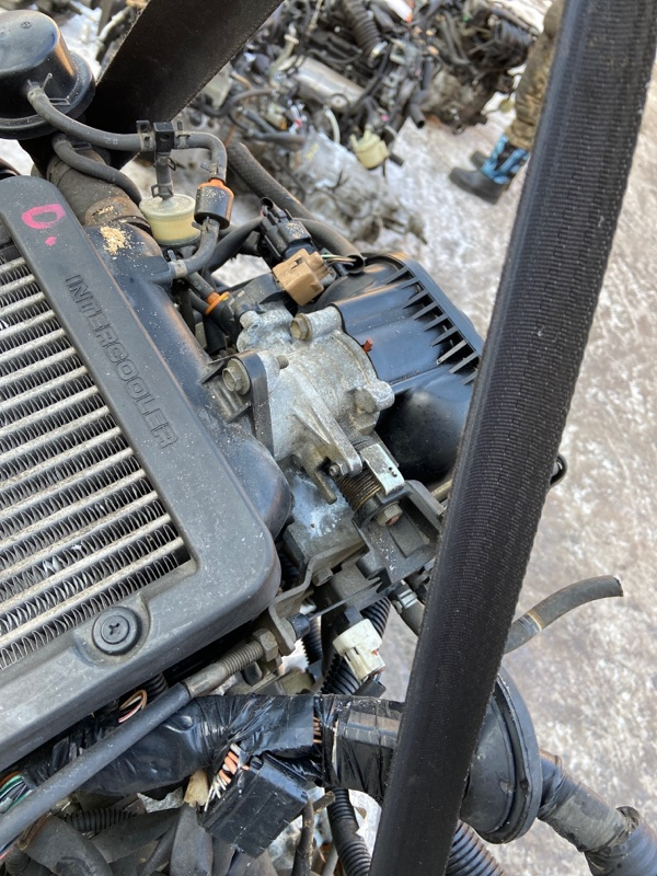 Заслонка дроссельная Daihatsu Mira L250S EF-DET