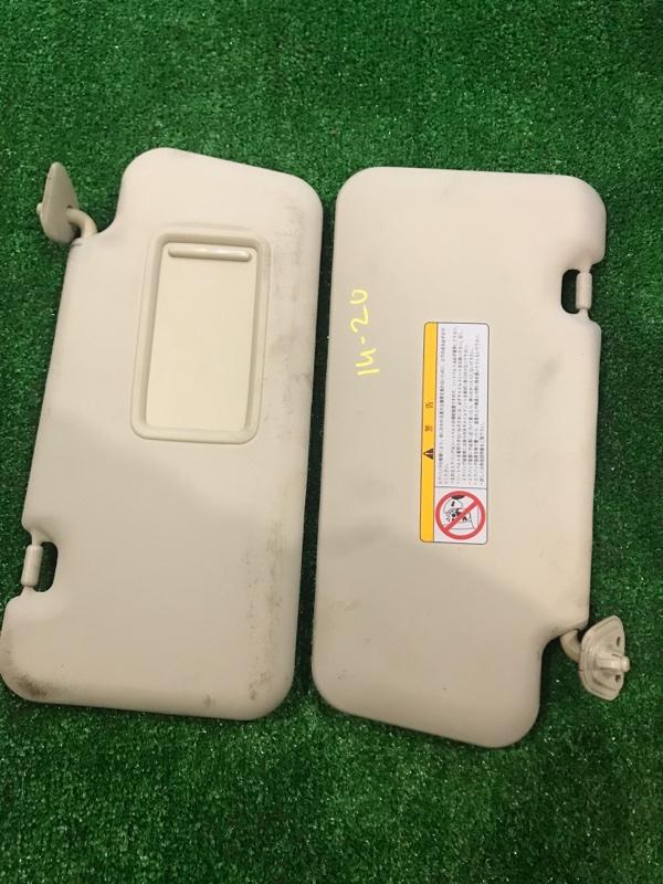 Солнцезащитный козырек Nissan Note E11 HR15DE