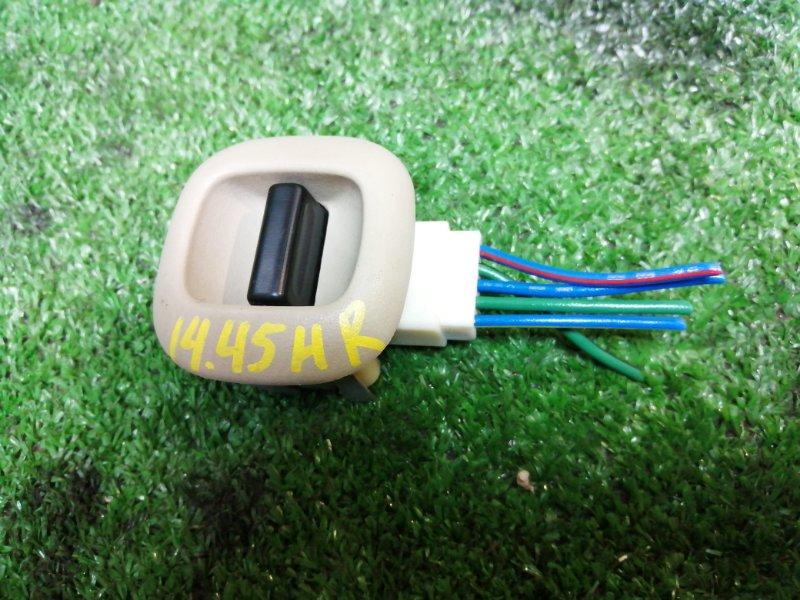 Кнопка стеклоподъемника Toyota Estima ACR30W 2AZ-FE задняя правая