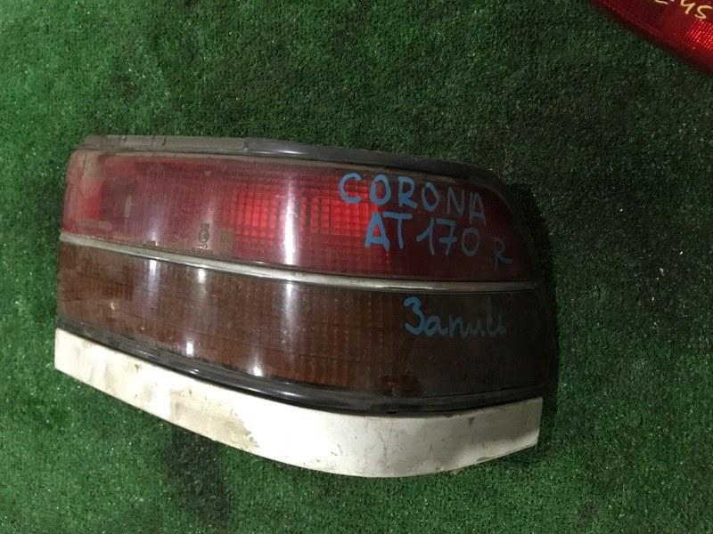 Фонарь стоп-сигнала Toyota Corona AT170 правый