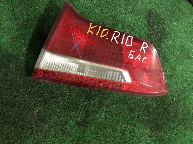 Фонарь в крышку багажника Kia Rio правый