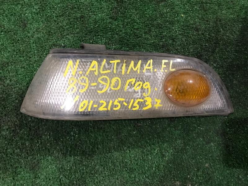 Габарит Nissan Altima 1989 передний левый