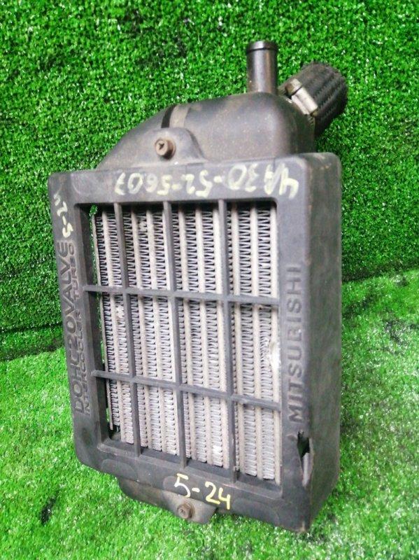 Радиатор интеркулера Mitsubishi Pajero Mini H56A 4A30