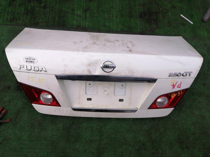 Крышка багажника Nissan Fuga Y50 VQ25DE
