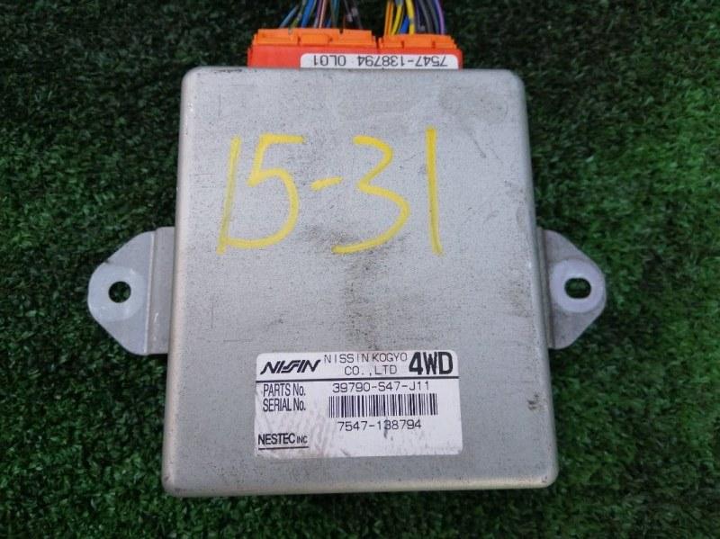 Блок abs Honda Stepwgn RF2 B20B