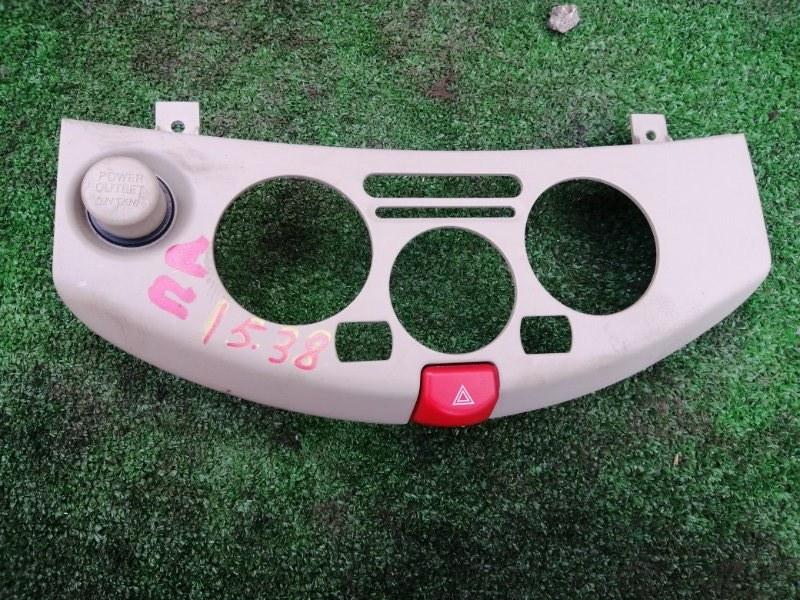 Консоли панели приборов Nissan March BNK12 CR14DE