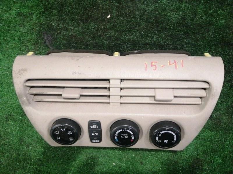 Блок управления климат-контролем Toyota Vista ZZV50 1ZZ-FE
