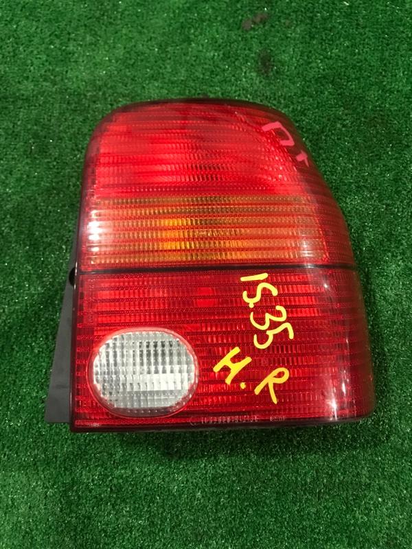 Фонарь стоп-сигнала Volkswagen Lupo BBY 2003 правый