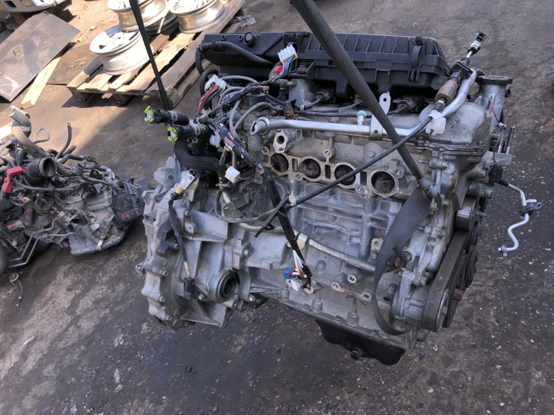 Двигатель Mazda Verisa DC5W ZY-VE