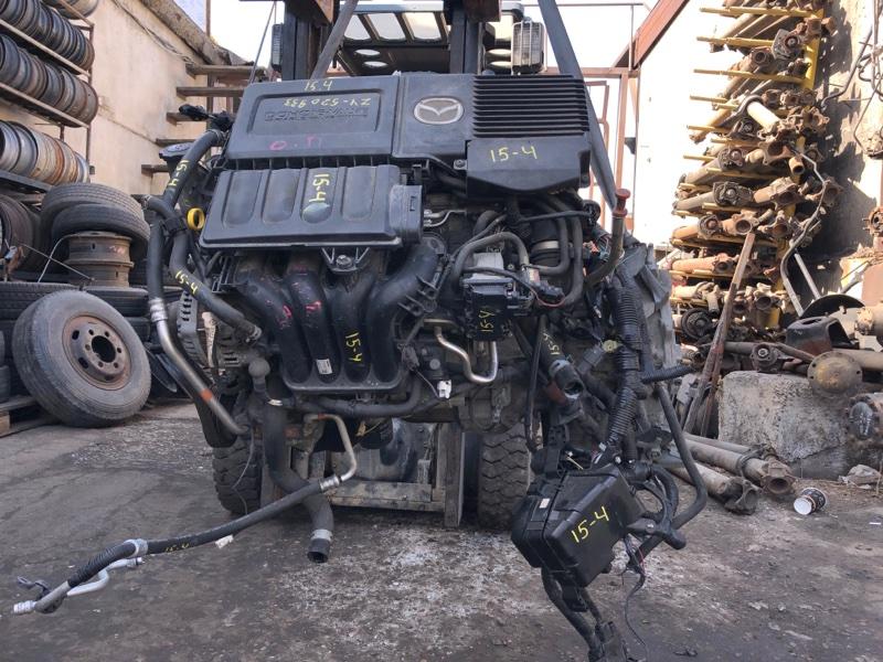 Проводка двигателя Mazda Verisa DC5W ZY-VE