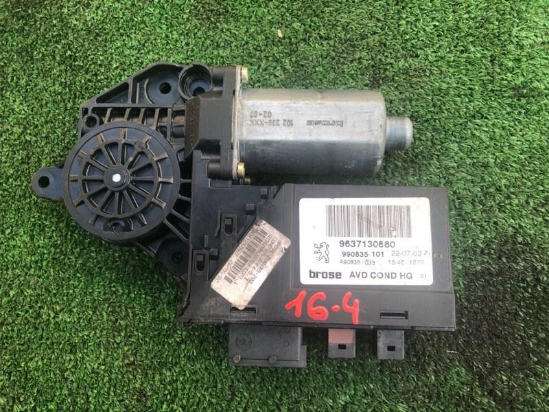 Мотор стеклоподъемника Peugeot 307 RFN (EW10J4) 2008