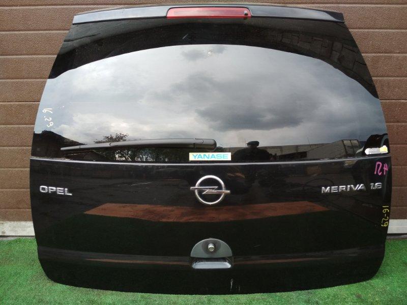 Дверь задняя багажника Opel Meriva Z16XE 2004