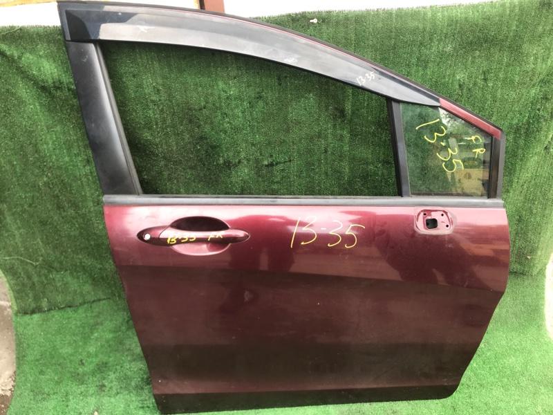 Дверь боковая Honda Freed GB3 L15A передняя правая