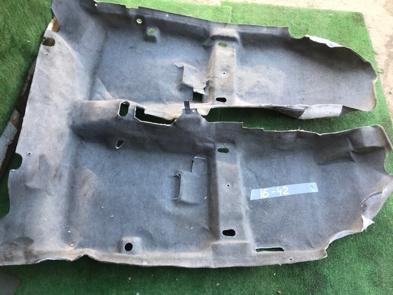 Обшивка пола Mazda Axela BK5P ZY-VE