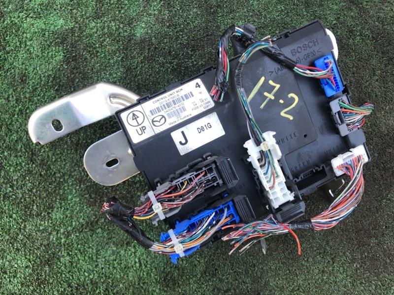 Блок управления bcm Mazda Demio DE3FS ZJ-VE