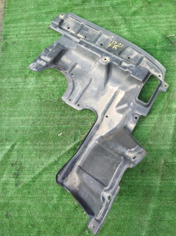 Защита двс Toyota Isis ZNM10W 1ZZ-FE передняя правая