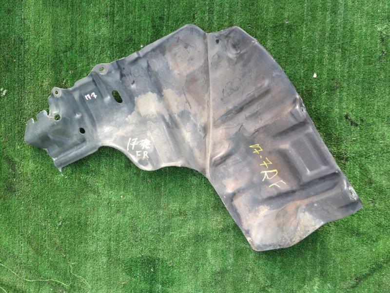 Защита двс Toyota Starlet EP95 4E-FE передняя правая