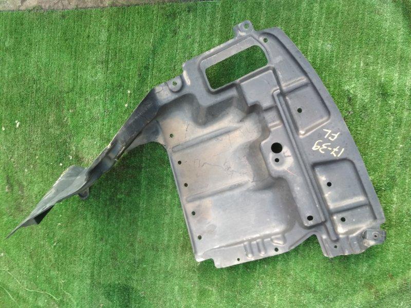 Защита двс Toyota Isis ZNM10W 1ZZ-FE передняя левая