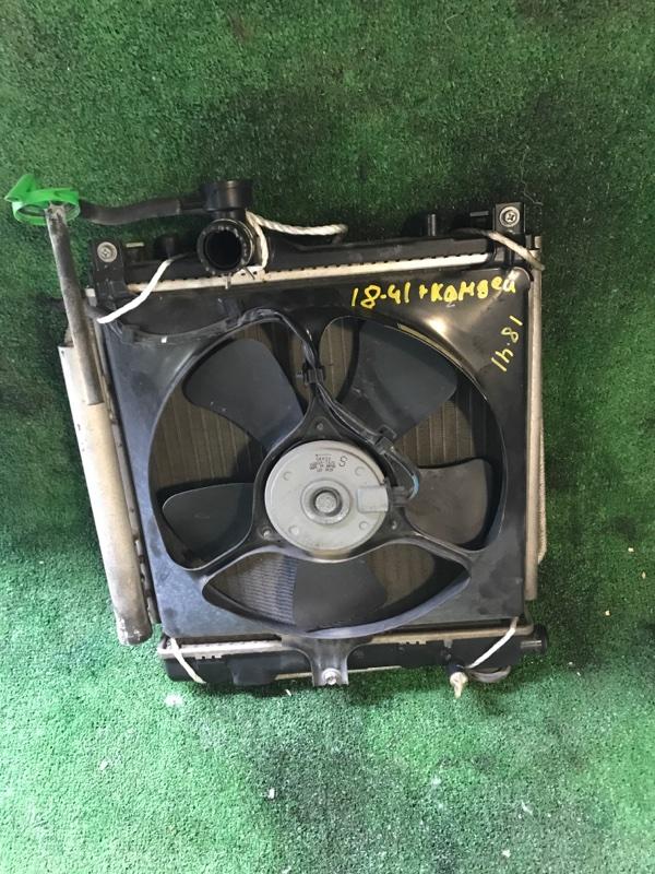 Радиатор двигателя Nissan Moco MF21S K6A